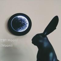 陶瓷月球灯月相灯月影灯渐变无线触摸版