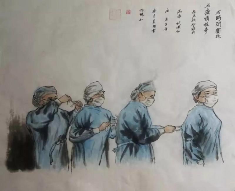 吴刚——《与时间赛跑 与疫情抗争》