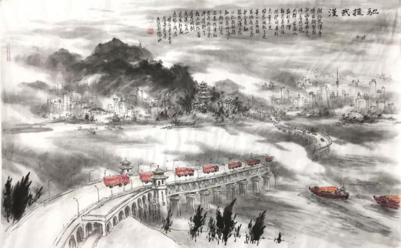 江葆华——《驰援武汉》