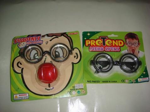 小丑鼻眼鏡
