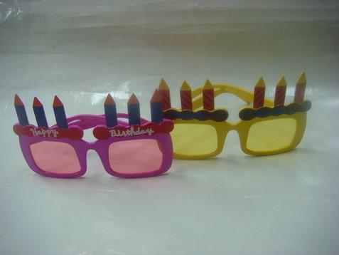 生日蛋糕眼鏡