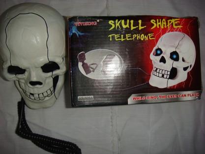 骷髏頭電話