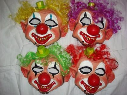 大鼻小丑面具